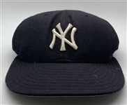 Derek Jeter c. 2002-2004 Game Worn New York Yankees Baseball Cap (PSA/DNA)