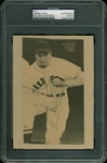 "Jimmie Foxx Superbly Signed 4.5"" x 6.5"" Newspaper Photo (PSA/DNA Encapsulated)"