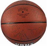 1992 Vintage Dream Team Signed Basketball w/ 11 Members Of The Best Team Of All-Time! (JSA)