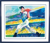 "Joe DiMaggio & LeRoy Neiman Signed ""The Cut"" Limited Edition Serigraph (Beckett/BAS Guaranteed)"