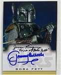 "Boba Fett: Jeremy Bulloch & Jason Wingreen Dual Signed 2.5"" x 3.5: Custom Photo Card (Beckett/BAS Guaranteed)(Steve Grad Collection)"