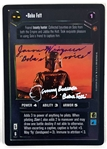 Boba Fett: Jeremy Bulloch & Jason Wingreen Signed 1999 Star Wars Reflections CCG Game Card (Beckett/BAS Guaranteed)(Steve Grad Collection)