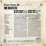 "The Beatles: Stunning Signed ""Please Please Me"" Parlaphone Record Album (Beckett/BAS Guaranteed)(Epperson/REAL & Tracks UK LOAs)"