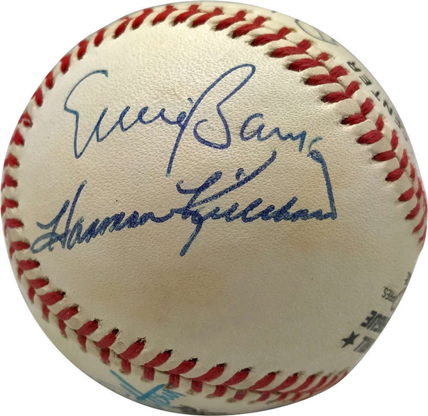 500 Home Run Club Impressive Signed ONL Baseball w/Mantle, Aaron, Mays, etc. (11 Sigs)(BAS/Beckett)