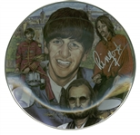 The Beatles: Ringo Starr Signed Limited Edition Artist Proof Gartlan Plate (Beckett/BAS Guaranteed)