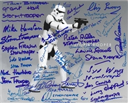 "Stormtroopers: The Ultimate Signed 8"" x 10"" Color Photo with 37 Signatures! (Beckett/BAS Guaranteed)(Steve Grad Collection)"