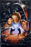"""Episode III: Revenge of the Sith"" Incredible Cast Signed 27"" x 40"" Movie Poster with 49 Autographs! (Beckett/BAS Guaranteed)(Steve Grad Collection)"