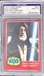 Sir Alec Guinness Signed 1977 Topps Star Wars Card #99 - PSA/DNA Graded MINT 9 Autograph