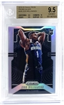 Zion Williamson 2019-20 Panini Prizm Silver Refractor #248 BGS Graded 9.5 GEM MINT with 10 Subgrade!