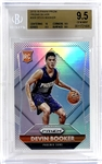 2015-16 Devin Booker Panini Prizm Silver Refractor Rookie Card - BGS Graded GEM MINT 9.5 with 10 Subgrade!