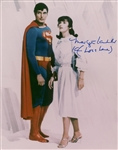 "Margot Kidder Signed 11"" x 14"" Superman Photograph (Beckett/BAS Guaranteed)"