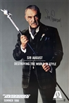 "Sean Connery ULTRA RARE In-Person Signed Full Sized One-Sheet Movie Poster for ""The Avengers"" (Beckett/BAS Guaranteed)"