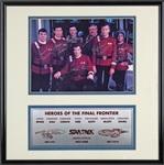 "Star Trek Multi-Signed ""Heroes of the Final Frontier"" Photograph w/ Shatner, Nimoy & Others! (Beckett/BAS)"