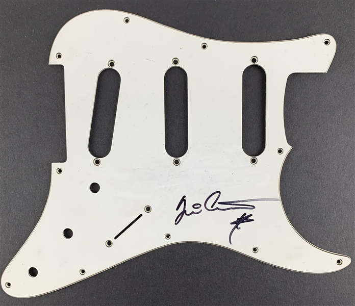 Yngwie Malmsteen In-Person Signed Stratocaster Style Electric Guitar Pickguard (John Brennan Collection)(Beckett/BAS Guaranteed)