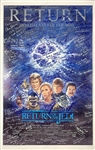 "Star Wars ""Return of the Jedi"" Full Size Movie Poster with Amazing 177 Autographs! (Beckett/BAS Guaranteed)(Steve Grad Collection)"