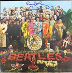 "The Beatles: Paul McCartney & Ringo Starr Superb Signed ""Sgt. Peppers Lonely Hearts Club Band"" Album (PSA/DNA)"