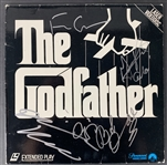 The Godfather Impressive Multi-signed Album Cover w/ Coppola, Keaton, Duvall & Pacino ! (PSA/DNA)