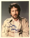 "Steven Spielberg In-Person Signed 8"" x 10"" Color Photo (John Brennan Collection)(Beckett/BAS Guaranteed)"