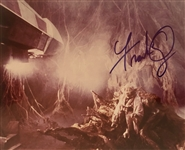 "Star Wars: Frank Oz Signed 8"" x 10"" Color Photo from ""The Empire Strikes Back"" (John Brennan Collection)(Beckett/BAS Guaranteed)"