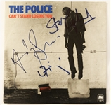 "The Police Group Signed ""Cant Stand Losing You"" 7-Inch UK 45 RPM Single Album (John Brennan Collection)(Beckett/BAS Guaranteed)"