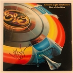 "ELO: Jeff Lynne In-Person Signed ""Out of the Blue"" Record Album Cover (John Brennan Collection)(Beckett/BAS Guaranteed)"