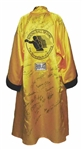 Boxing Hall of Fame Full Size Multi-Signed Robe w/ Foreman, Ellis, King, Frazier & Others (JSA)