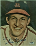 "Stan Musial Sigend Photograph, 8"" x 10"", framed to 13"" x 15"", (PSA)"