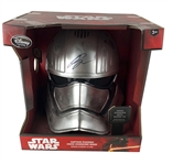 "Gwendoline Christie Signed ""Captain Phasma"" Voice Changing Mask (Beckett/BAS Guaranteed)"
