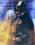 "David Prowse Signed 16"" x 20"" Star Wars Photograph (Steiner)"