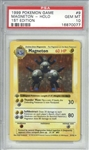 Magneton 1999 First Edition Shadowless Base Set Holo Pokemon Card #9/102 - PSA Graded GEM MINT 10