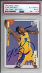 Kobe Bryant ULTRA-RARE Signed 1996-97 Fleer Ultra Rookie Card (PSA/DNA Encapsulated)