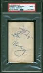 Elvis Presley Signed Vintage Card (PSA/DNA Autograph Graded MINT 9)