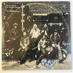"Allman Brothers Band Group Signed ""At Fillmore East"" Record Album w/Betts, Allman, Johanson & Trucks (John Brennan Collection)(Beckett/BAS Guaranteed)"