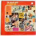 "The Beach Boys Signed ""All Summer Long"" Album Incl. Carl Wilson! (John Brennan Collection)(Beckett/BAS Guaranteed)"