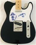 AC/DC: Angus Young Signed Telecaster Style Guitar with Hand Drawn Sketch (John Brennan Collection)(Beckett/BAS Guaranteed)