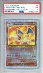 Charizard 2002 Pokemon Legendary Collection Reverse Foil #3 Trading Card (PSA Encapsulated)