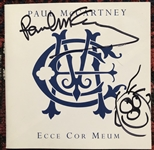 "Paul McCartney Signed ""Ecce Cor Muem"" CD Booklet with Sketch (Beckett/BAS Guaranteed)"
