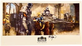 Star Wars Rogue One: Exclusive Star Wars Celebration 2019 Chicago Signed Dave Dorman VIP Limited Print (Beckett/BAS Guaranteed)