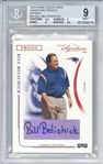 Bill Belichick Signed 2004 Prime Signatures Signature Proofs Bronze Card - BGS MINT 9 w/ 9 Auto