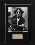 The Beatles: John Lennon Superb Autograph in Custom Matted Display (Beckett/BAS LOA & Caiazzo LOA)