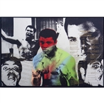 "Stunning Muhammad Ali & Steve Kaufman Signed 31"" x 45"" Limited-Edition Screenprint Canvas Artwork (PSA Authentication)"