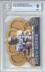 Drew Brees Signed 2001 Crown Royale LE /250 Rookie Card (Beckett/BGS 9)