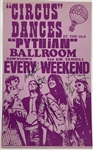 "Jefferson Airplane Group Signed Original First Printing 14"" x 22"" Concert Poster (Beckett/BAS Guaranteed)"