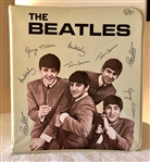 The Beatles: John Lennon RARE In-Person Signed Beatles Binder (Beckett/BAS)