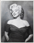 "Marilyn Monroe Spectacular Signed & Inscribed 11"" x 14"" Portrait Photograph - One of the Finest in Existence! (PSA/DNA)"