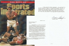 Cassius Clay / Muhammad Ali Signed 1963 Agreement Letter to Promote Sonny Liston Fight (PSA/DNA)