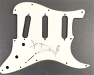 Dave Grohl In-Person Signed Stratocaster Guitar Pickguard (Beckett/BAS Guaranteed)