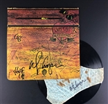 "A Rare 1972 Classic ""Schools Out"" Album Signed TWICE by Alice Cooper, once on the cover and once on the pair of panties holding the Album (Beckett/BAS) (LOA)"