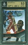 2003-04 eTopps Basketball LeBron James ROOKIE RC #43 BGS 9.5 GEM MINT with 10 Subgrades