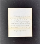 President Ulysses S. Grant Signed 1870 Presidential Document in Matted Display (Beckett/BAS Guaranteed)